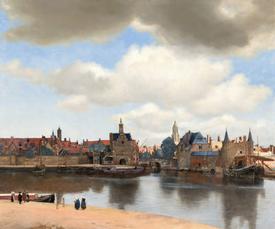 Johannes Vermeer View of Delft