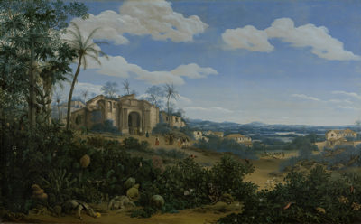 Frans Jansz. Post View of Olinda