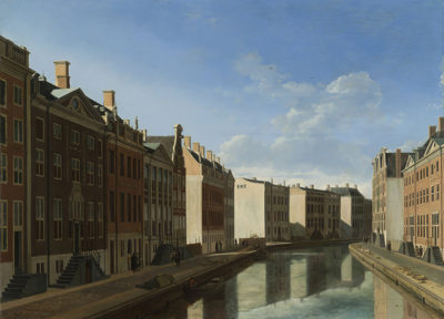 Gerrit Adriaensz. Berckheyde View of the Golden Bend in the Herengracht