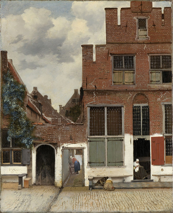 Johannes Vermeer View of Houses in Delft