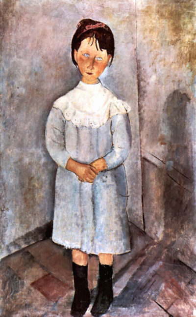 Amedeo Clemente Modigliani Girl in blue