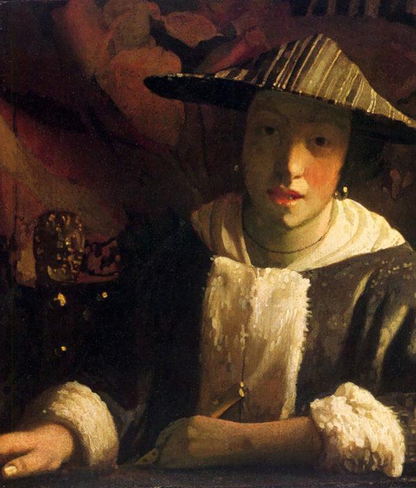 Johannes Vermeer Girl with a flute
