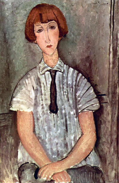 Amedeo Clemente Modigliani Girl with blouse