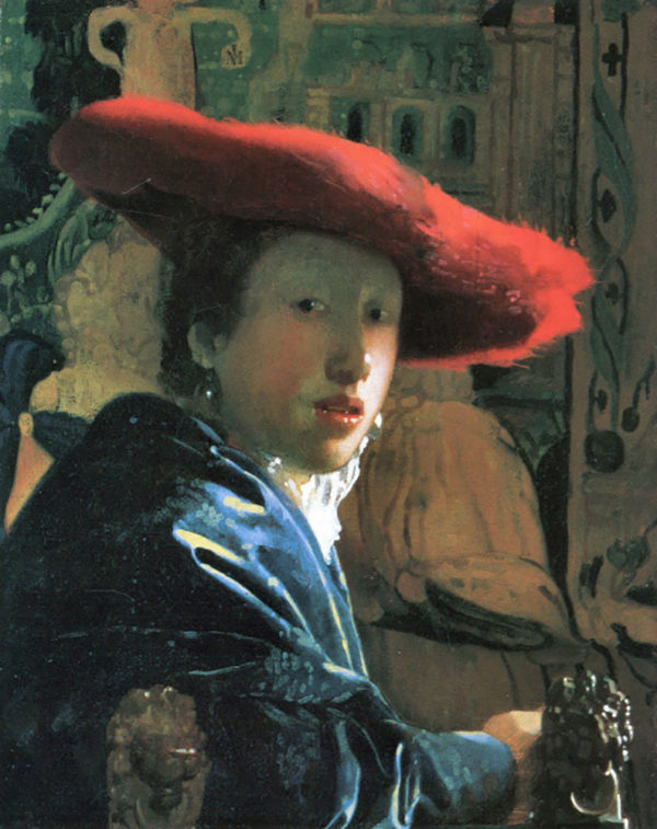 Johannes Vermeer Girl with red hat