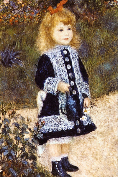 Pierre-Auguste Renoir Girl with the Watering Can