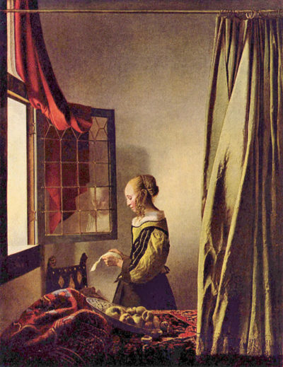 Johannes Vermeer Girls at the open window