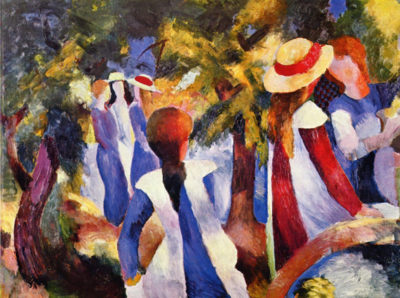 August Macke Girls in the Open