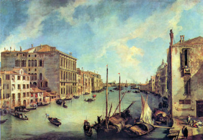Canaletto Grand Canal at San Vio