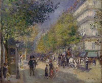 Pierre-Auguste Renoir Grande Boulevards