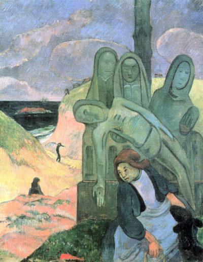 Paul Gauguin Green Christ
