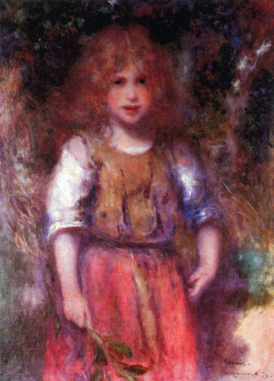 Pierre-Auguste Renoir Gypsy girl