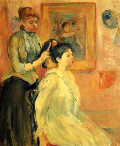 Berthe Morisot Hairstyle