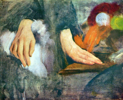 Edgar Degas Hand Study