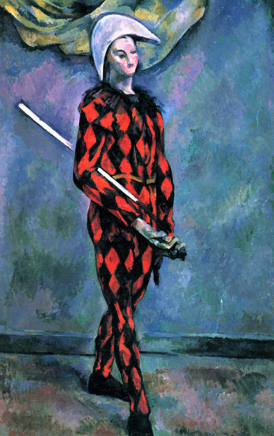 Paul Cézanne Harlequin