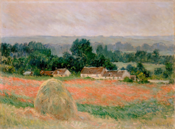 Claude Monet Haystacks at Giverny