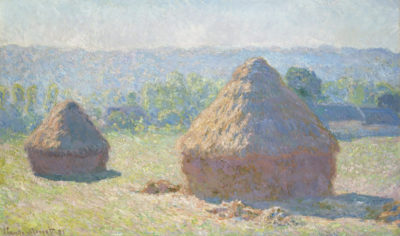 Claude Monet Haystacks