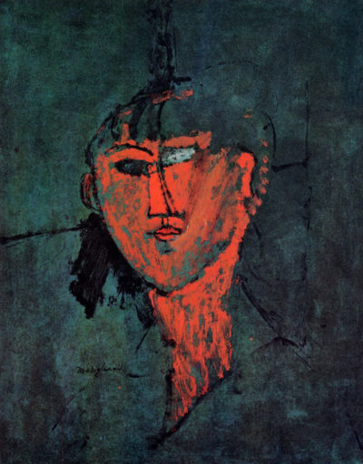 Amedeo Clemente Modigliani Head