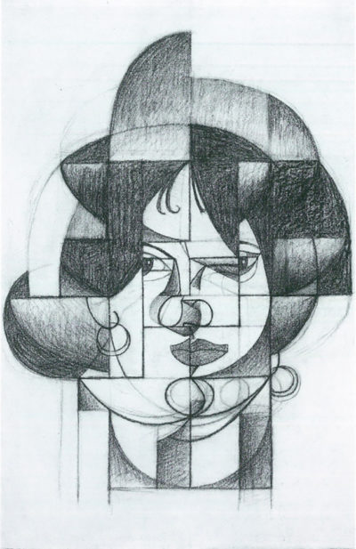 Juan Gris Head of Germaine Raynal