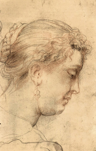 Peter Paul Rubens Head of a woman