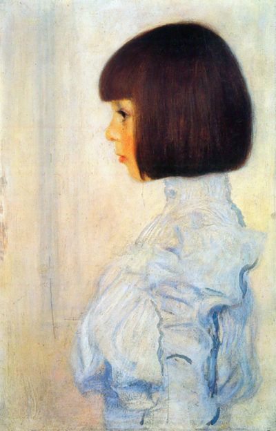 Gustav Klimt Helene Klimt portrait