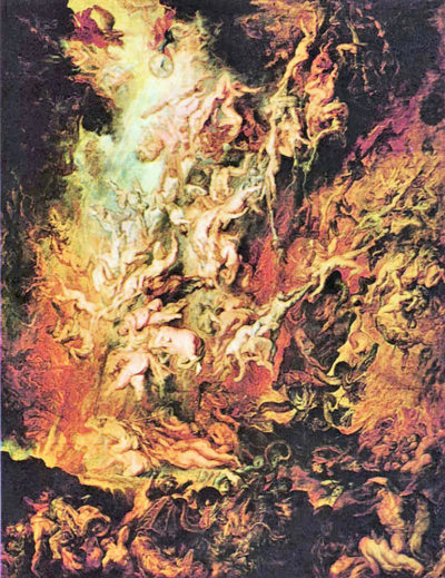 Peter Paul Rubens Hell overthrow of the Damned