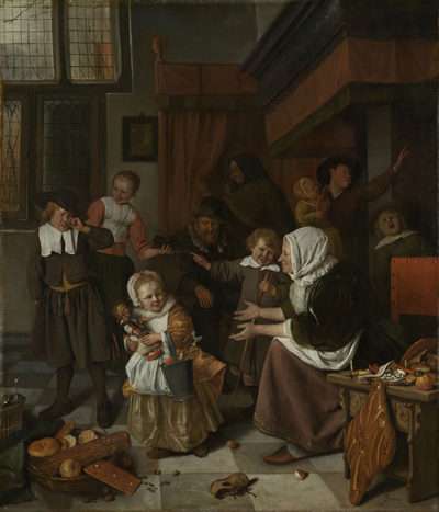 Jan Havicksz. Steen The Feast of St Nicholas