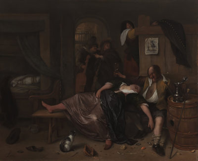 Jan Havicksz. Steen The Drunken Couple