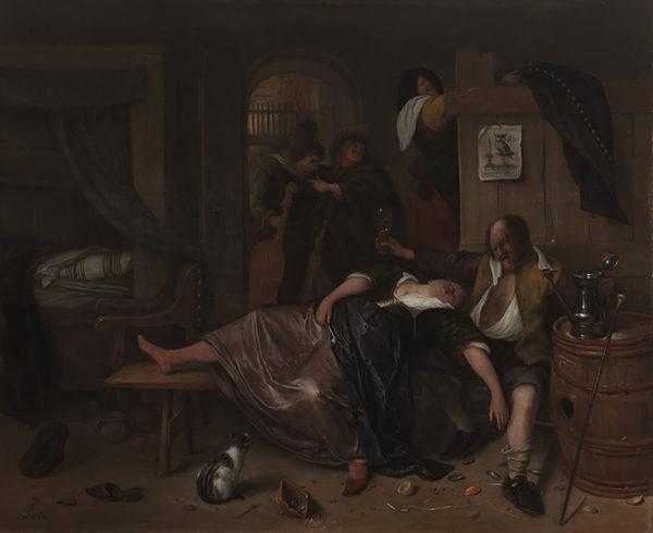 Jan Havicksz. Steen The Drunken Couple