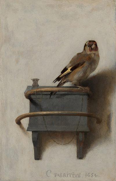 Carel Fabritius The Goldfinch