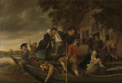 Jan Havicksz. Steen The merry homecoming