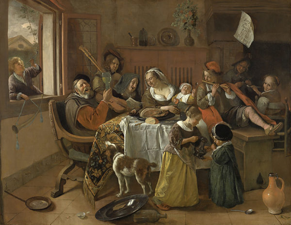 Jan Havicksz. Steen The Merry Family