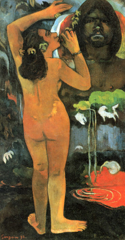 Paul Gauguin Hina Tefatau