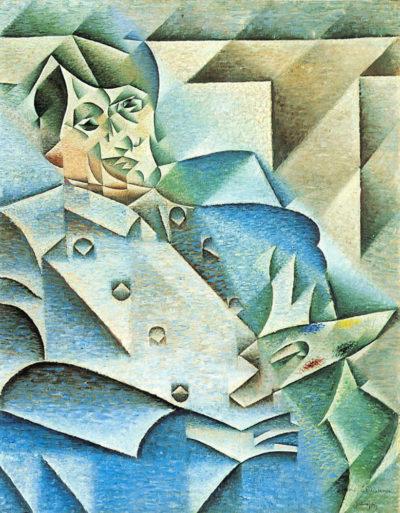 Juan Gris Homage to Pablo Picasso