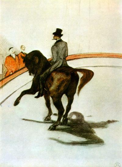Henri de Toulouse-Lautrec Horse in the Ring