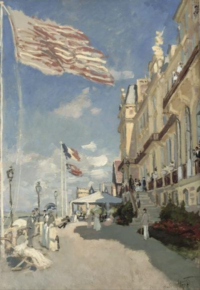 Claude Monet Hotel des roches noires