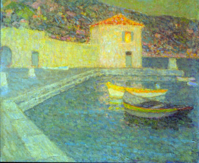 Henri Le Sidaner House by the Sea