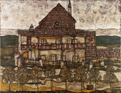 Egon Schiele House with Shingle Roof