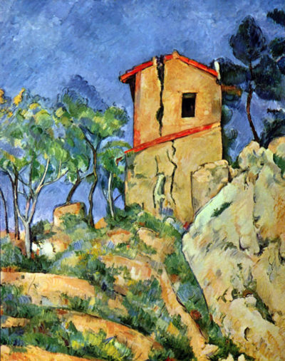 Paul Cézanne House with Walls