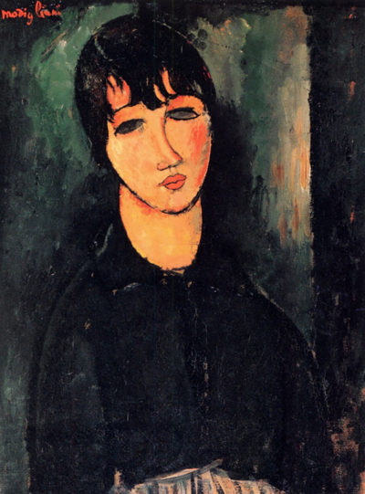 Amedeo Clemente Modigliani Housemaid