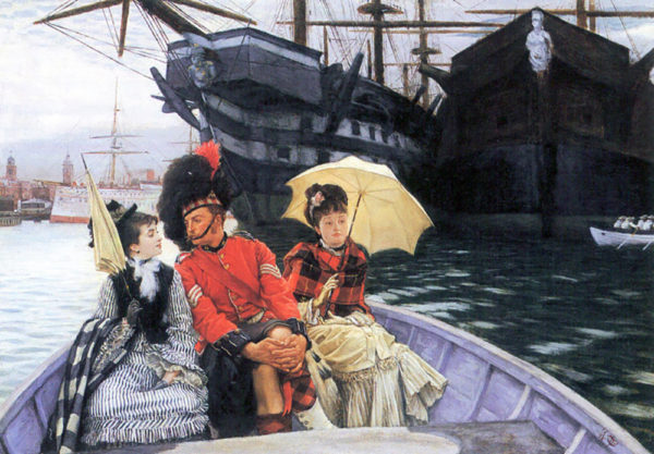 James Tissot How happy I would be with both