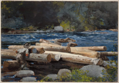 Winslow Homer Hudson River