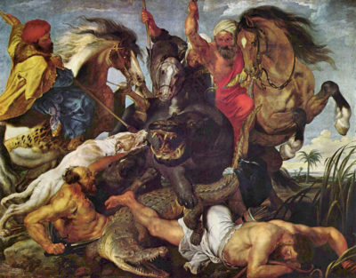Peter Paul Rubens Hunting
