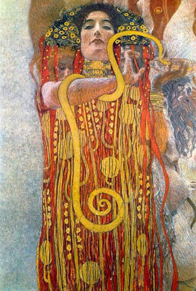 Gustav Klimt Hygeia