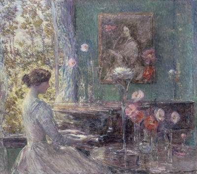 Childe Hassam Improvisation