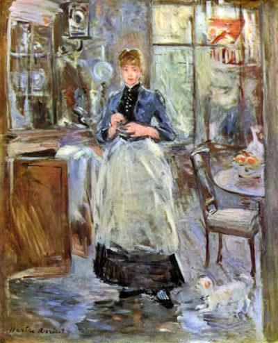 Berthe Morisot In Dining Room