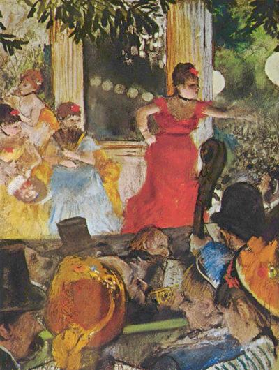 Edgar Degas In concert cafe (The Ambassadors)
