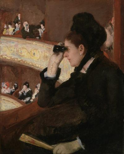 Mary Cassatt In the Loge
