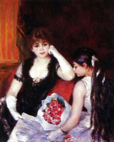 Pierre-Auguste Renoir In the Loge