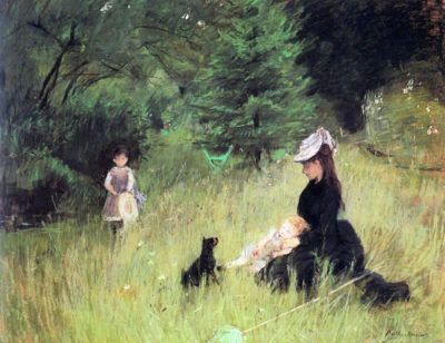 Berthe Morisot In the Meadow