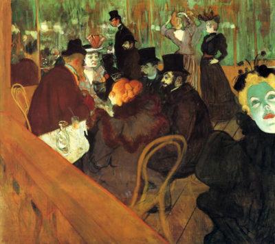 Henri de Toulouse-Lautrec In the Moulin Rouge